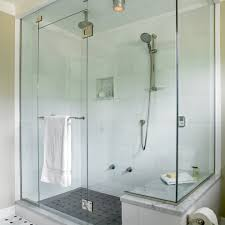 Glass Shower Door Towel Bar by Steam Shower Design Bathroom Contemporary With Glass Door Metal