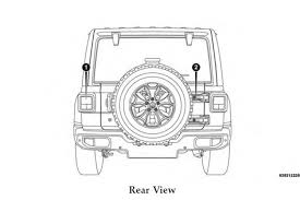 jeep wrangler front drawing 2018 jeep wrangler owner u0027s manual leaked key details revealed