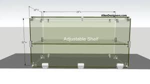 Merchandise Display Case Diy Glass Countertop Display Case Youtube