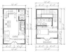 French Cottage Floor Plans 16x20 House 16x20h3 569 Sq Ft Excellent Floor Plans