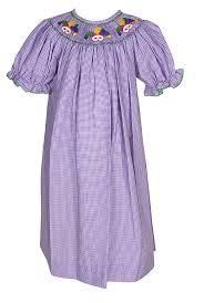 purple mardi gras anavini velani smocked purple mardi gras bishop dress
