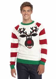 ugly christmas sweater reindeer sweater belk