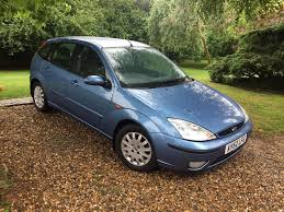 2002 ford focus ghia 1 8l 60k fsh in attleborough norfolk