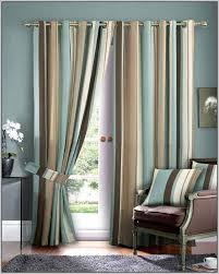 Gold Striped Curtains Blue And Gold Striped Curtains Curtains Home Design Ideas