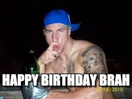 Gym Birthday Meme - happy birthday brah happy birthday bro meme on memegen