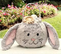 bunny easter basket 6 totally adorable reusable easter baskets shop daily
