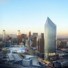 Gensler by Renderings Revealed For 1300 Figueroa Gensler U0027s Tenth Tower Along