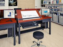 Oak Drafting Table by Perfect Contemporary Drafting Table 65 For Your Interior