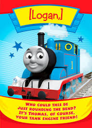 thomas the tank engine birthday card happy birthday card cardstore