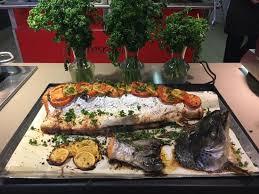 la cuisine au four saumon entier au four picture of crescendo restaurant cahors