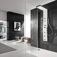 Open Shower Bathroom Design 77 Best Doorless Shower Images On Pinterest Bathroom Ideas