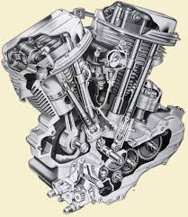 the difference between harley davidson engines infographic