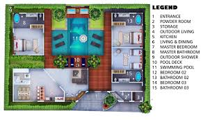 villa floor plan villa layout and floorplan villa marton canggu canggu villas