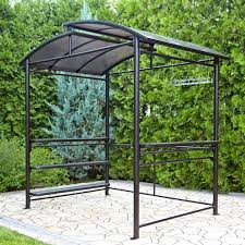 Mainstays Grill Gazebo by Grill Gazebo With Slate Countertop Amys Office