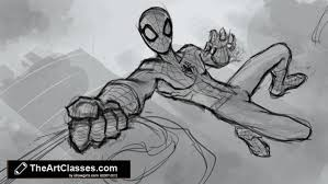 draw amazing spider man drawing digital painting