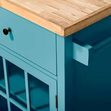 kitchen island with wood top windham wood top kitchen island threshold target