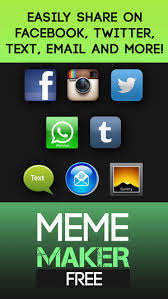 Free Meme Maker App - meme maker free quick easy poster gif creator on the app store