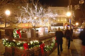 christmas lights in asheville nc holiday shopping spots in asheville shopping districts