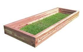 Cedar Raised Garden Bed Handmade Eastern Red Cedar Raised Garden Bed By Upstate Rustics