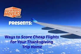 if you t already booked your flight home for thanksgiving