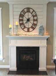 fixer upper joanna gaines inspired fireplace mantle hand cut