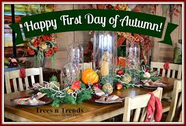 trees n trends celebrate the day of autumn with trees n trends