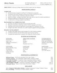 Security Specialist Resume Sample by Skill Based Resume Sample Network Support User Training Specialist