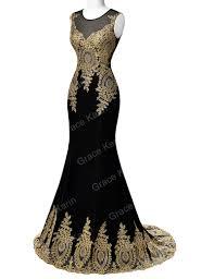 applique long prom dress crystal formal evening masquerade ball