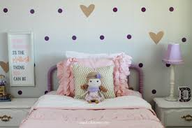 Pink And Purple Bedroom Ideas Little Purple Gold Bedroom Makeover Lolly Jane