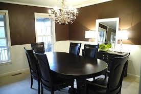 dining room chair rail ideas dining room with chair rail cool dining room color ideas with chair