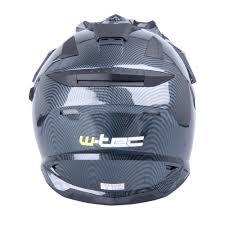 junior motocross helmets motocross helmet w tec ap 885 tx 27 carbon look insportline