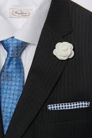 lapel flowers three ties pocket squares and lapel flowers starter kit the