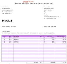 Free Invoice Templates Excel Free Invoice Template For Microsoft Excel By Excelmadeeasy