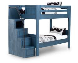 Bristol Valley Bunk Bed With Stairs Furniture Row - Kids bunk beds furniture