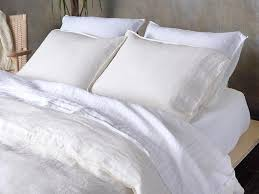 How To Make A Duvet Cover Stay Linen Duvet Cover