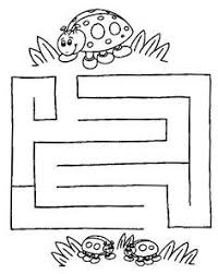 spiders theme activities for preschool prek and kindergarten maze