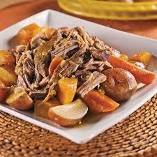cuisiner comme un chef recettes une grosse pièce de viande et de bons légumes voilà de quoi combler