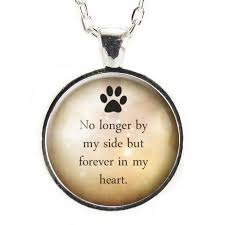 pet memorial necklace pet memorial necklace pet loss gift loss of pet remembrance
