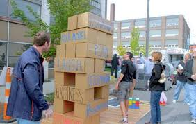 Backyard Jenga Set by Giant Jenga Game For Office Google Search Cool Work Spaces