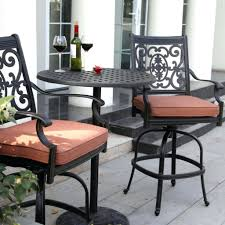 Resin Bistro Chairs Patio Ideas Bar Height Patio Bistro Set Resin Wicker Outdoor 3