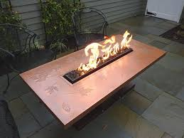 propane fire table enchanting ideas for your backyard home