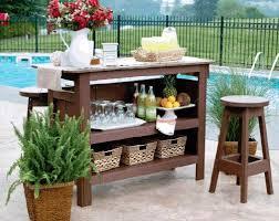 Patio Bar Furniture by Outdoor Bar Furniture By Edwin Blue Home Bar Design