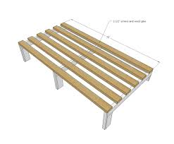 ana white diy daybed for tiny house seating and extra sleeping