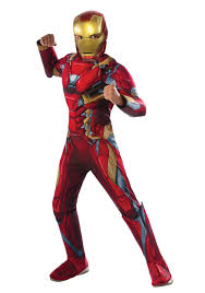 Costumes Halloween Boys Iron Man Costumes Child Iron Man Movie Costume
