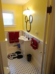 disney bathroom ideas disney home decor idea mickey mouse door throughout