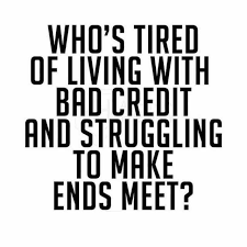 Bad Credit Meme - dopl3r com memes whos tired of living with bad credit and