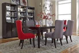 Red Dining Table by Vera Dining Room Collection