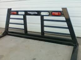 headache rack with light bar headache racks tumbleweed mfg