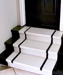 Garage Stairs Design How To Snaze Up The Garage Steps Simple Steps For Painting Steps