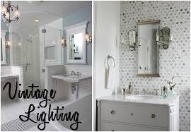 Retro Bathroom Light Inspiring Amazing Retro Bathroom Lighting 3 Fivhter Vintage
